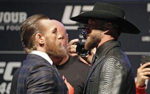 Conor McGregor vsDonald Cerrone staredown