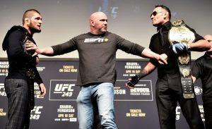 Khabib Nurmagomedov vs Tony Ferguson UFC 249