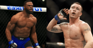Colby Covington Tyron Woodley