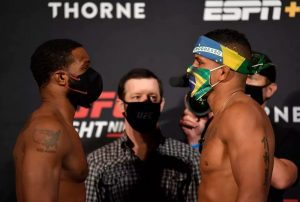 Výsledky UFC on ESPN: Woodley vs Burns
