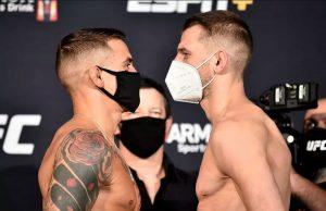 Výsledky UFC on ESPN: Poirier vs Hooker