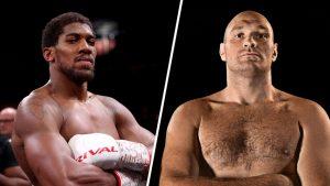 Tyson Fury vs Anthony Joshua 2021