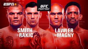 Výsledky UFC Fight Night: Anthony Smith vs Alexander Rakic + HIGHLIGHTY