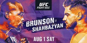 Výsledky UFC Fight Night: Derek Brunson vs Edmen Shahbazyan