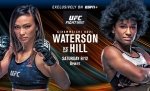 Výsledky UFC Fight Night: Michelle Waterson vs Angela Hill