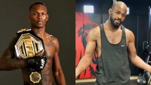 Israel Adesanya Jon Jones