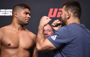 Výsledky UFC Fight Night: Overeem vs Sakai
