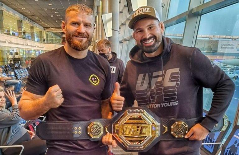 Jan Blachowicz Domninick Reyes UFC 253