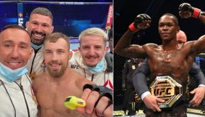 Ľudovít Klein Israel Adesanya UFC 253