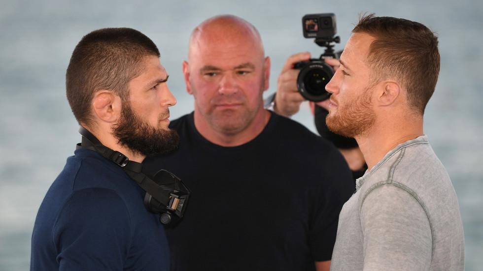 Khabib Nurmagomedov UFC 254
