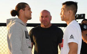 Výsledky UFC Fight Night: Ortega vs Korean Zombie