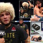 McGregor, Jones, Miocic, Cormier aďalší reagujú na výhru aukončenie kariéry Khabiba na UFC 254