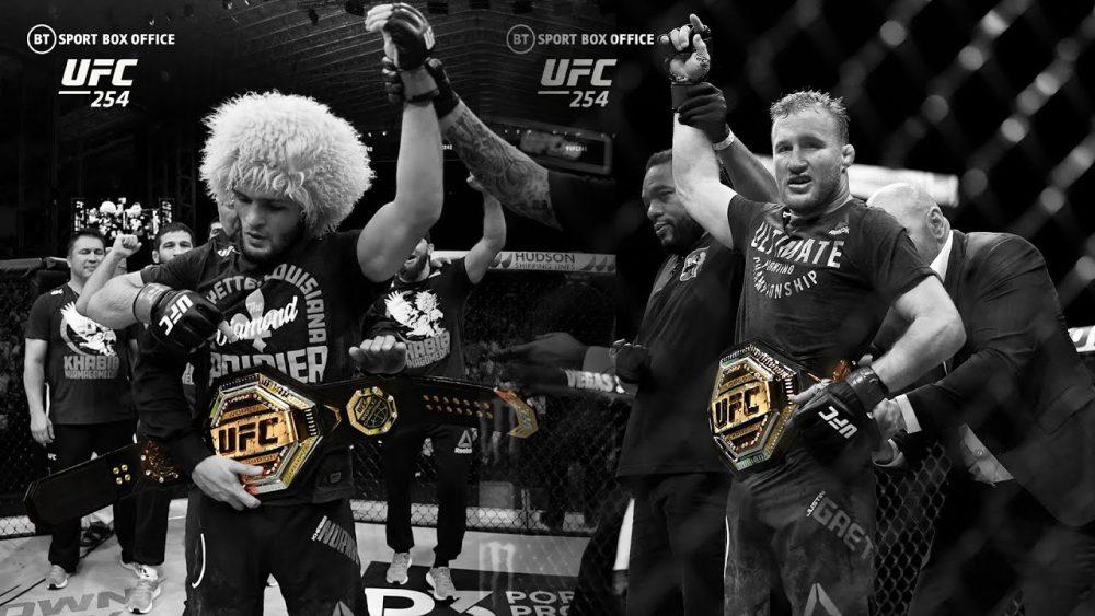 Khabib vs Justin Gaethje UFC 254