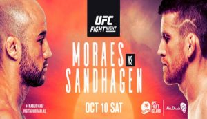 Kompletné výsledky UFC Fight Night: Moraes vs. Sandhagen