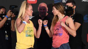 Výsledky UFC Fight Island 4: Holm vs Aldana