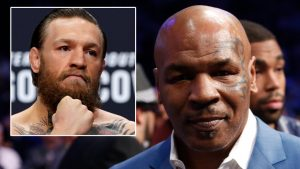 Mike Tyson Conor McGregor