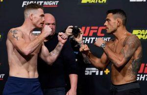 Výsledky UFC Fight Night: Paul Felder vs Rafael Dos Anjos