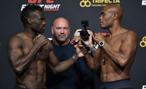 Výsledky UFC Fight Night: Uriah Hall vs Anderson Silva