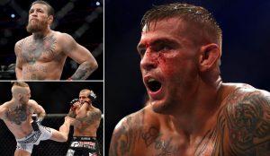 UFC 257 Dustin Poirier Conor McGregor