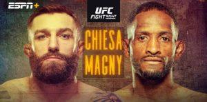 Kompletné výsledky UFC Fight Island 8: Neil Magny vs Michael Chiesa + HIGHLIGHTY