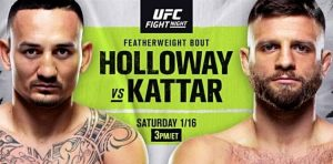 Výsledky UFC Fight Island 7: Max Holloway vs Calvin Kattar + Highlighty