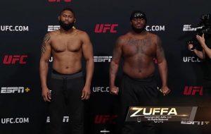 Výsledky UFC Vegas 19: Curtis Blaydes vs Derrick Lewis