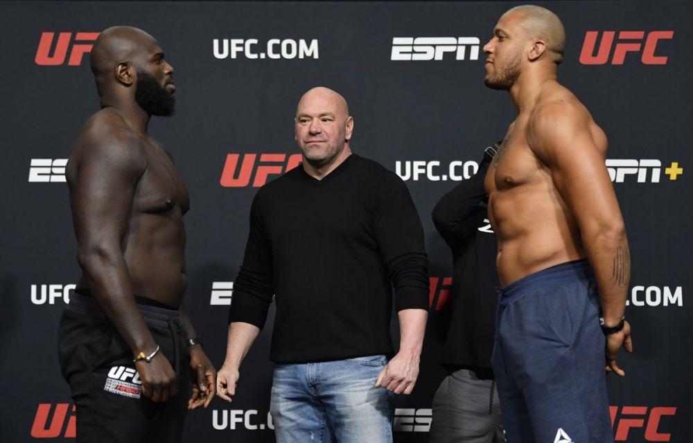 Výsledky UFC Fight Night: Rozenstruik vs Gane