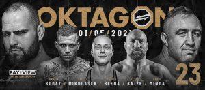 OKTAGON 23: Petr Kníže vs Andrea Fusi - Kompletná fight card a informácie