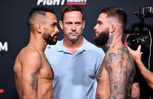 Výsledky UFC Vegas 27: Font vs Garbrandt, David Dvořák