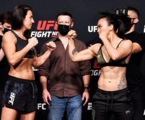 Výsledky UFC Vegas 26: Marina Rodriguez vs Michell Waterson + HIGHLIGHTY
