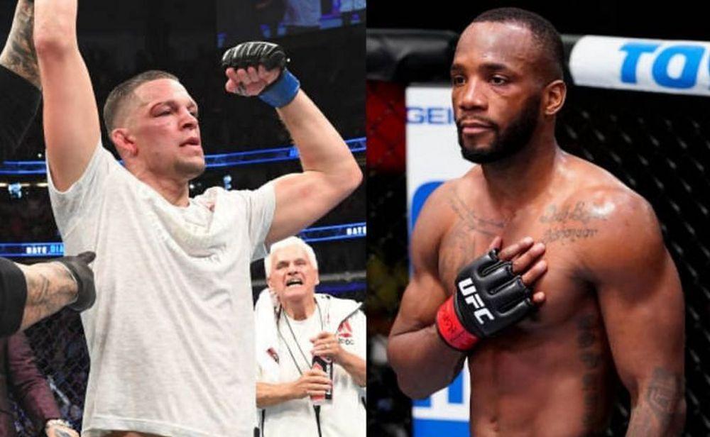 UFC 263 Leon Edwards Nate Diaz