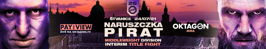 OKTAGON 26: Pirát vs Naruszczka